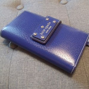 Kate Spade Blueberry Jam Stacy Wellesley Wallet